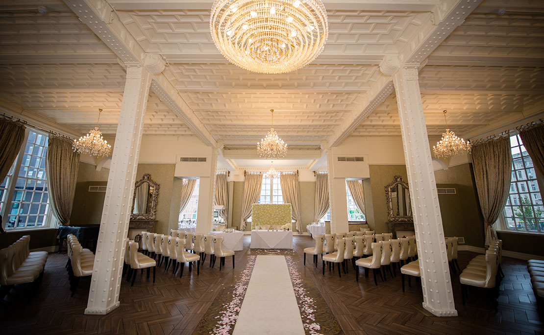 White Star Grand Hall in Liverpool - Halloween wedding venue