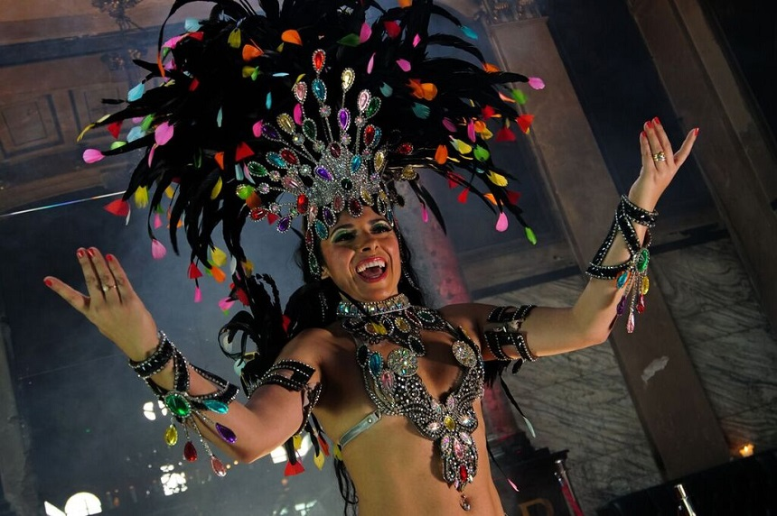 Alma samba dancer - places to get married in Liverpool