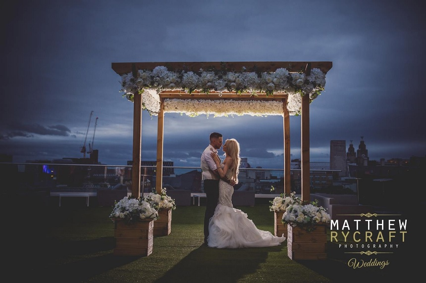 Garden of Eden - outdoor wedding - rooftop wedding venues
