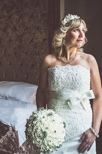 Beautiful bride before the big day at The Exchange Hotel
