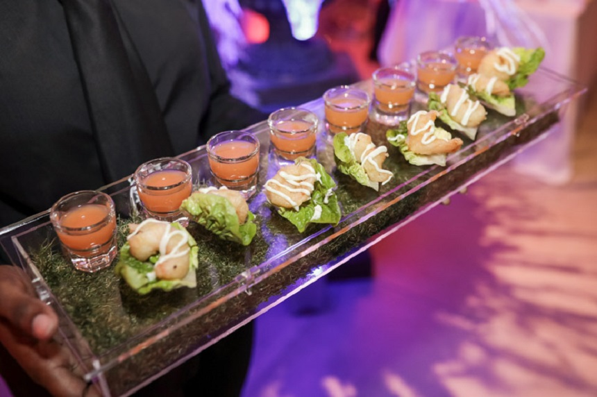 Canapes - wedding venues in Liverpool