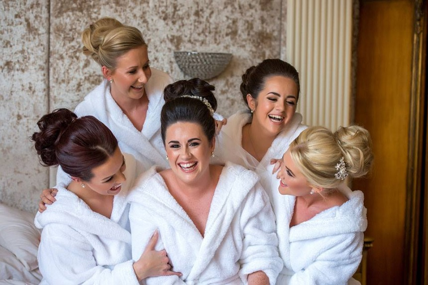 Bridal party accommodation - rooftop wedding venues