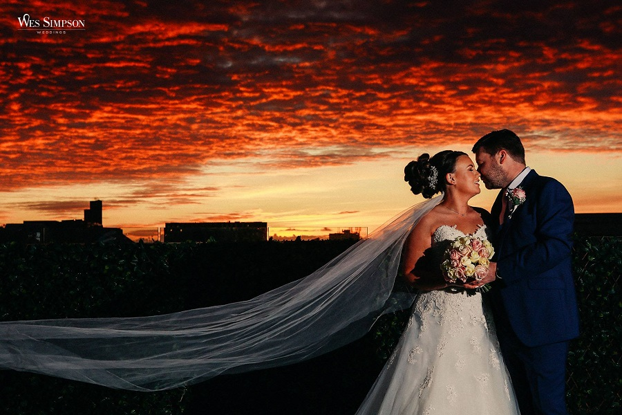 Garden of Eden Sunset outdoor wedding